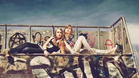 Celina and Natalia 05 by fantasmica