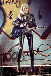 Ula vs Guitar 04 by fantasmica