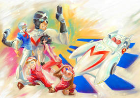 Speed Racer by idaiku17