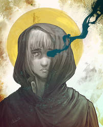 Armin bw by idaiku17