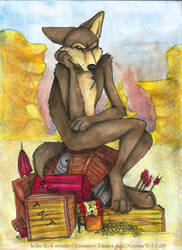 Wile E. Coyote by Grion