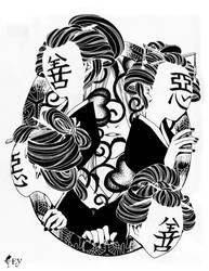 zengyoku akugyoku ~senzai ishiki~ subconscious by neoshiki