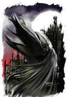 Batman Fan art by keithdraws
