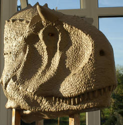 Original Carnotaurus Sculpture by xsculptorx