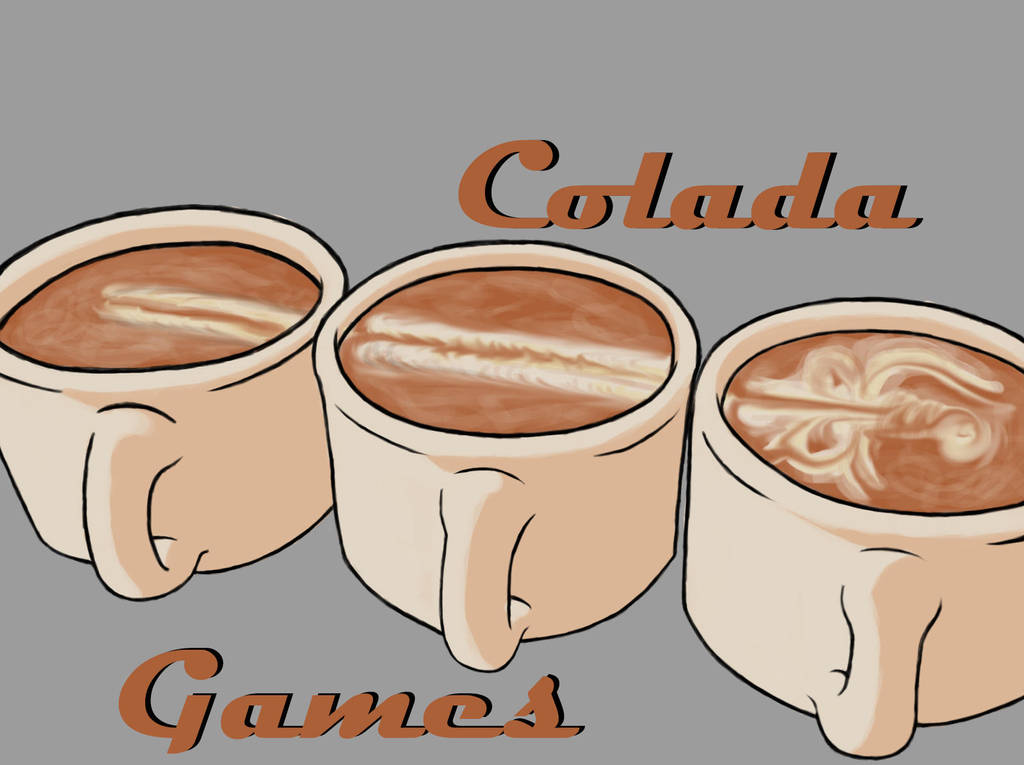 Colada Games three cups logo by hittyskibbles