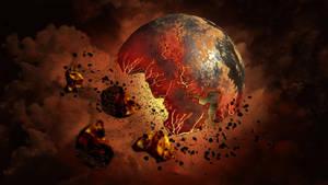 BrokenPlanet by hittyskibbles
