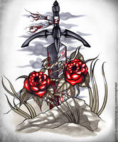 Sanguine Sword by shadowmer92