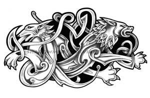 Knotwork by shadowmer92