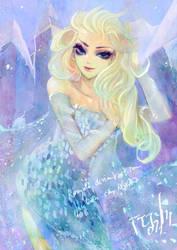 Frozen Elsa by alaskaYU