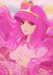 Princess Bubblegum by alaskaYU