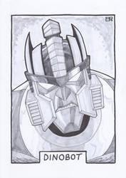AA13 Sketch - Dinobot by Kingoji