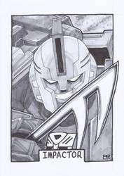 AA13 Sketch - Impactor by Kingoji