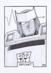 AA13 Sketch - Ratchet by Kingoji