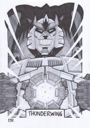 AA13 Sketch - Thunderwing by Kingoji