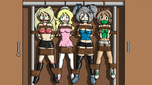 Request: Rara, Natsa, Shye and Stelle stored by DarkPilcrow