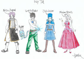 Fairy Tail Guild Members 2 by a22d