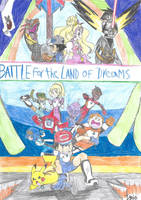 Pokemon S and M: Battle for the Land of Dreams by a22d