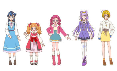 All Stars Memories Hugtto! Precure Cloths by a22d