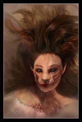 Mujer gato by varian