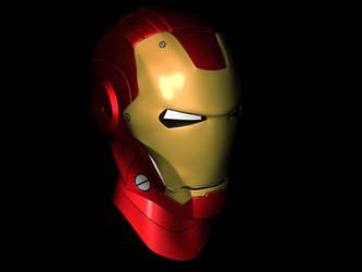 Iron Man: Minor Tweaks to Texturing by optimusprimez10