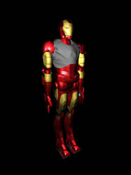 Iron Man: Base Texturing Almost Complete by optimusprimez10
