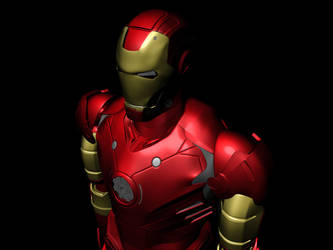 Iron Man: Base Texturing COMPLETE by optimusprimez10