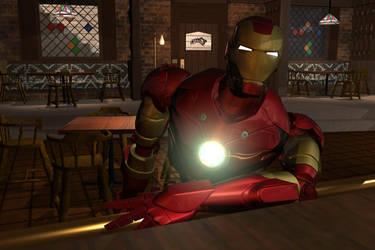 Where Everyone Knows Iron Man by optimusprimez10