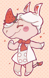 acnl: meringue by teakups