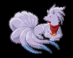 Shiny Ninetales by MeoWmatsu
