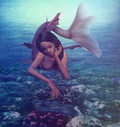 Mermaid by dollydoll