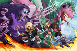 Steven Universe - Fusions by 1-Ace