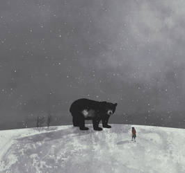 The bear by Magictorcho