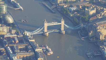 Tower Bridge from above! (1) by Artfulancell