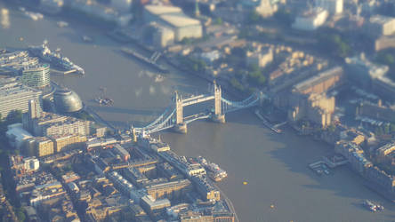 Tower Bridge from above! (2) by Artfulancell