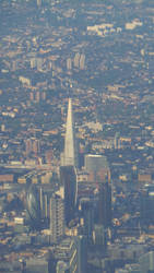 Flying Over London: Shard/Gherkin by Artfulancell