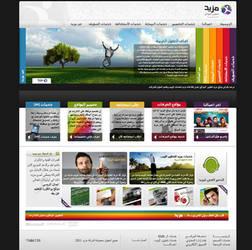 mazeed web by husseinfarar