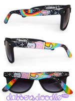 Nyan Sunglasses by DablurArt