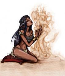 Oasis Witch by BaylaVin