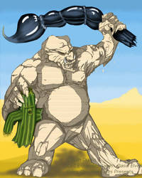 Oasis Sand Troll by BaylaVin
