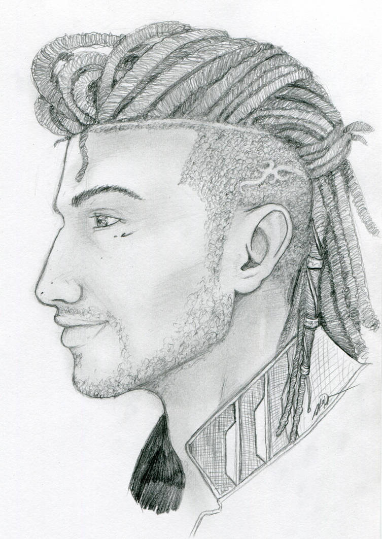 Nyx With Dreads by BaylaVin