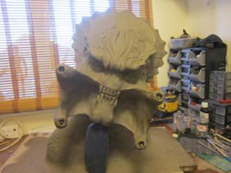 Lifesize Predator Head bust  Sculpt by VijayVega