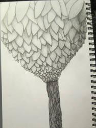 InkTober 3 Tree by VijayVega