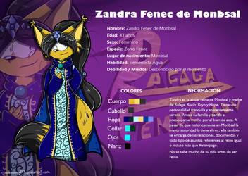 Zandra Fenec of Monbsal Reference by RociDrawings97