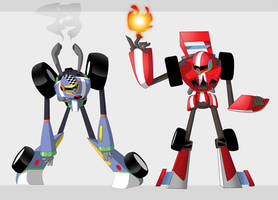 Turbo Men by Rootay
