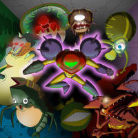 Super Metroid by Rootay