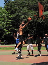 Static Sports I : Basketball by Calcobrinus