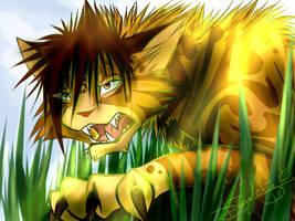 Lionblaze by Jei-Dinofelini