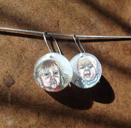 Mama's Earrings by kristensaurus