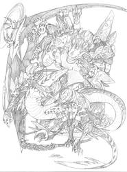 Dragon King Breeds by Bersagliere