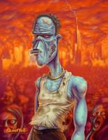 Zombies Undie Hard by ScottMonaco